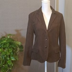 J. CREW brown corduroy cotton/wool jacket
